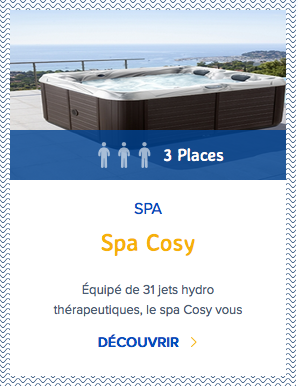 Mondial Spa Cosy 3 places