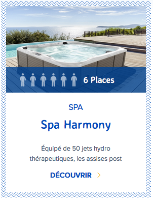 Mondial Spa Harmony 6 places