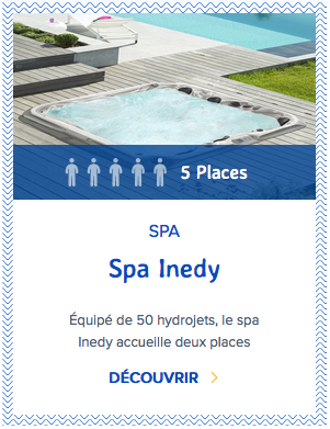 Mondial Spa Inedy 5 places