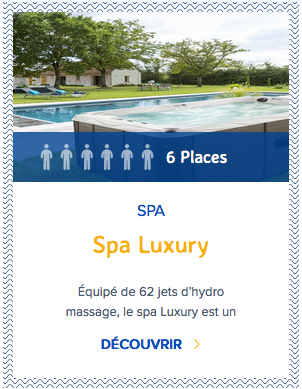 Mondial Spa Luxury 6 places