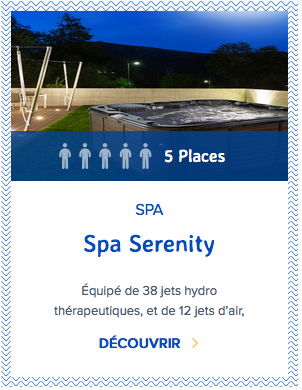 Mondial Spa Serenity 5 places