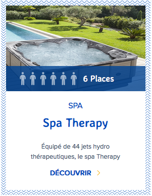 Mondial Spa Therapy 6 places